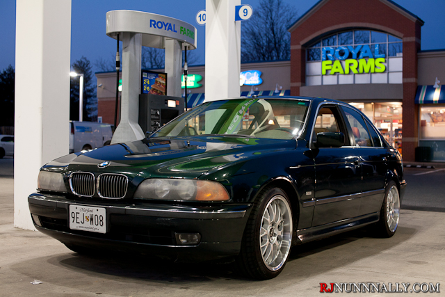 1997 BMW 540i with ASA AR1 rims