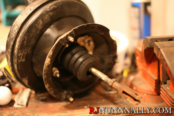 Porsche 944 brake booster extension